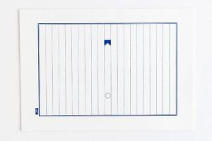 「日乗箋」榛原製 青色十行罫紙 B5サイズ