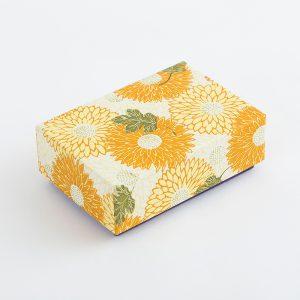 千代紙小箱 重陽 黄