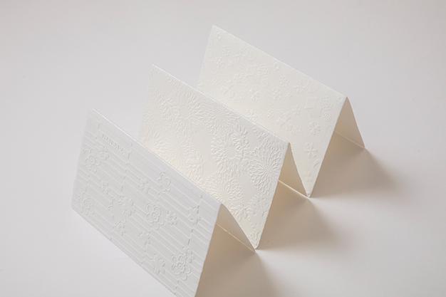 はいばらカード 浮彫和紙